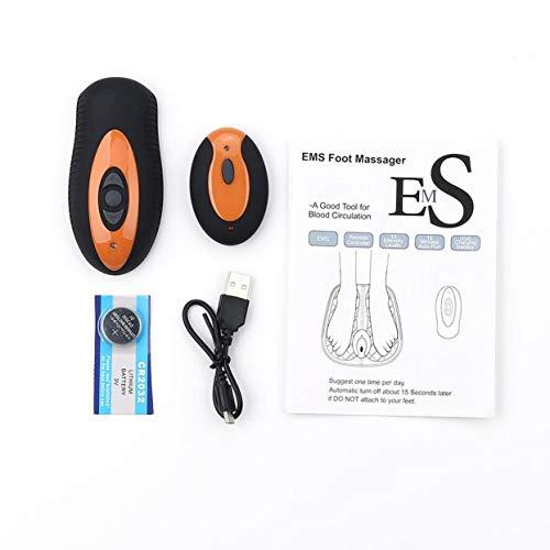 LoveOlvido Afstandsbediening EMS Voetspiermassage Stimulator ABS Fysiotherapie Revitaliserende Pedicure Stimulator Voetgezondheid Vibrator Mat.