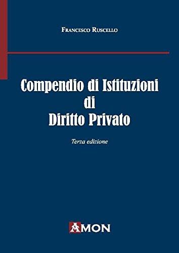 Compendio di istituzioni di diritto privato