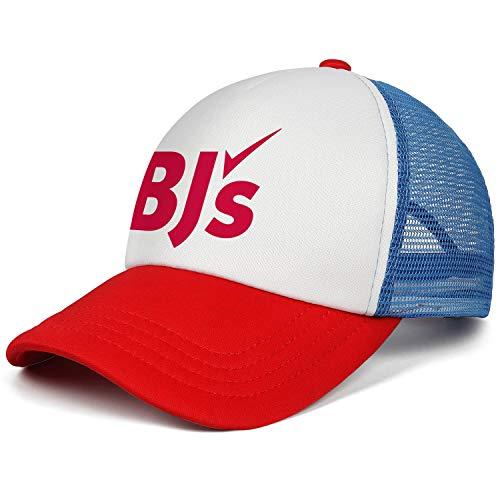 LHSPOSIFD Unisex Man's Baseball Hat Hipster Adjustable Mesh Captain BJ's-Wholesale-Club-Logo-Flat Cap