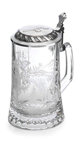 Artina 93339 Sternbodenseidel Elch / Bär, Glas