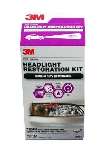 3M Headlight Restoration Kit Medium Duty by 3M