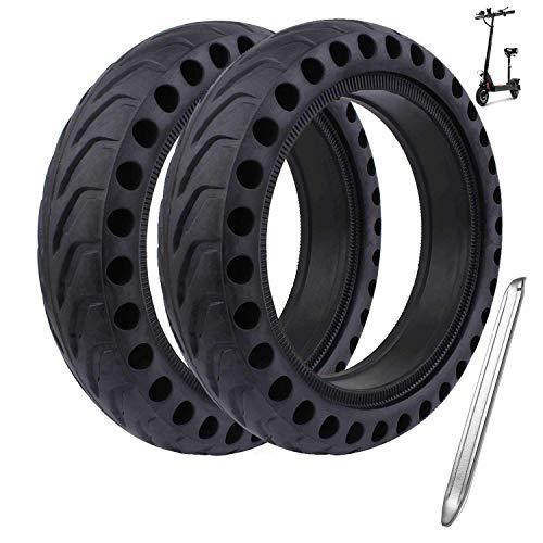 Hito Ersatzräder Ersatzreifen Reifen Felge Ersatz Felge für Xiaomi M365/M365 Pro Elektro-Scooter Skateboarding Gummi Tyre Reifen (2PCS)