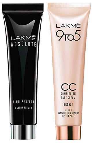 Lakmé Absolute Blur Perfect Makeup Primer, 30g And Lakmé 9...