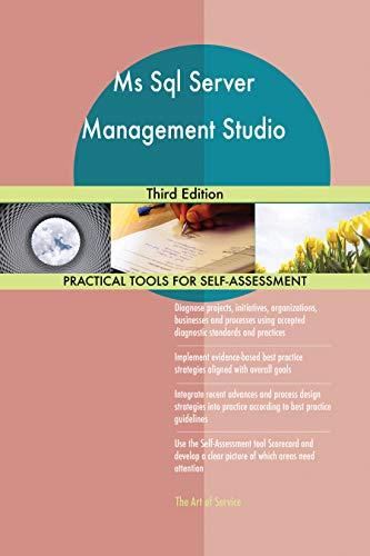 Ms Sql Server Management Studio Third Edition (English Edition)