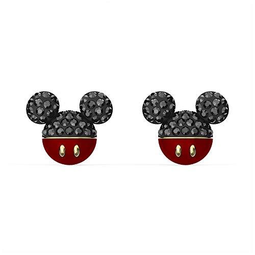 Swarovski Pendientes Mickey y Minnie