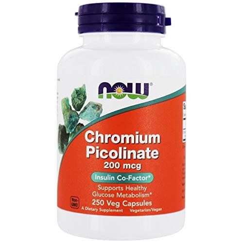 Chromium Picolinate 200 mcg 250 caps