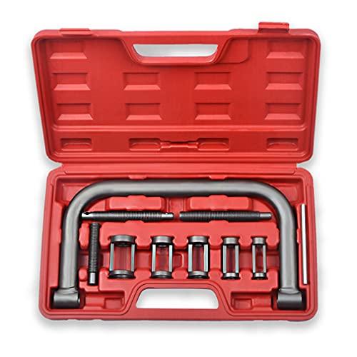 Prokomon 10pc Auto Valve Spring Compressor C Clamp Tool Set Service Kit for Motorcycle, ATV, Car, Small Engine Vehicle Equipment