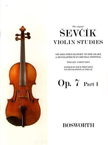 Sevcik Violin Sudies. Opus 7 Part 1. Triller-Vorstudien