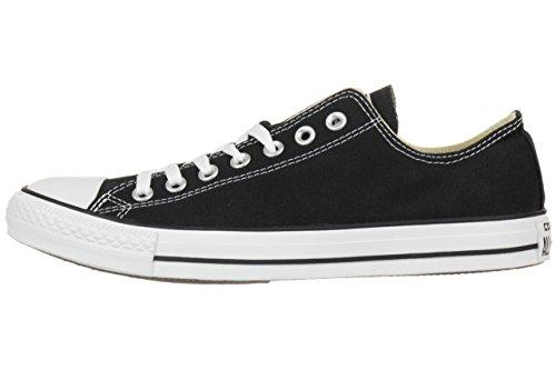 Converse All Star Ox Canvas Zapatillas Negras-UK 5.5