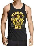 style3 Eternia Fitness Camiseta para Hombre T-Shirt Gimnasio he Universe Man, Talla:L