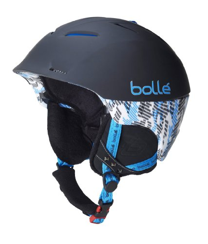 Bollé helm Synergy, soft black and blue, 54-58cm, 30505