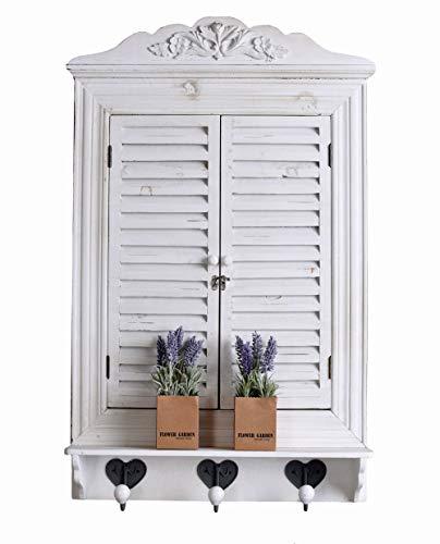 Ventana Cargar Espejo Espejo de Pared con Puertas Espejo Ventana Shabby Chic Espejo Palazzo Exklusiv