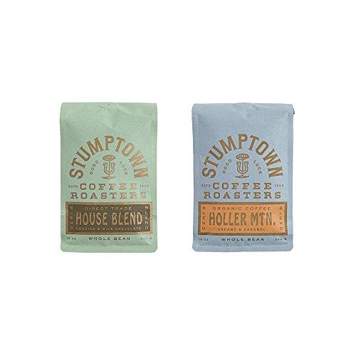 Stumptown Coffee Roasters Whole Beans- House Blend & Holler MTN Bundle, 12 oz bags