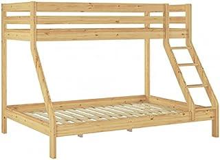 Erst-Holz Solido Telaio Letto per Ragazzi 90x200 in Pino Laccato Senza doghe 60.67-09-TinaoR