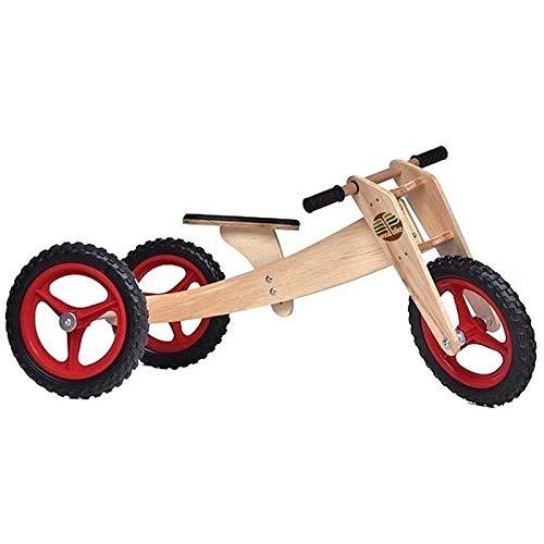 Bicicleta de Madeira Woodbike - 3 Estágios - Woodline - Vermelho - Camará
