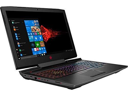 "OMEN by HP 17.3"" Gaming Laptop, 120Hz Full HD IPS Display, Intel i7-8750H Six-Core 2.20GHz, NVIDIA GTX1070 8GB, 16GB DDR4, 1TB HDD + 128GB SSD,, Win10H, 17-an198ms (Renewed)"