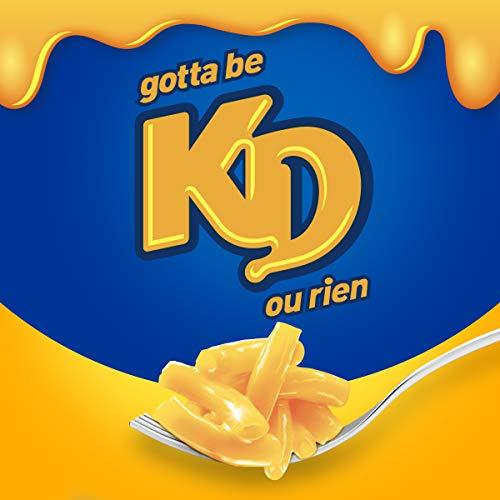 Dîner Kraft Dinner Macaroni Fromage Original 12 portions individuelles de 58g - 4