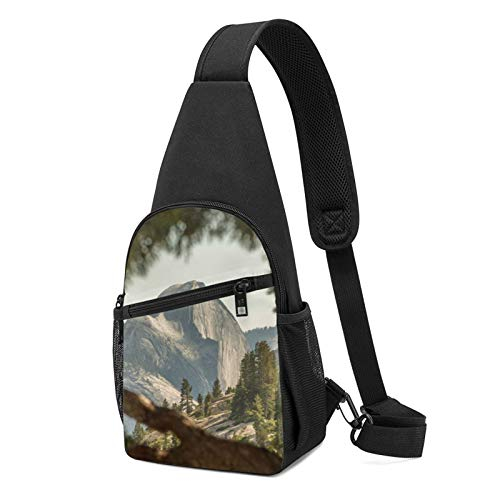High Quality Material: Made Of Durable Polyester Fabric With Smooth Zipper. Adjustable Strap Allows You Adjust Length And Wear Bag In The Front Or Back, And Stays In Place Comfortably Even While Running. Easily Switch From Left To Right Shoulder. Bre...