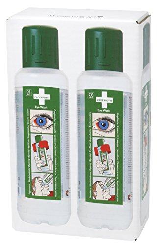 Cederroth - Lavaojos, 500 ml, para rellenar, 2 unidades