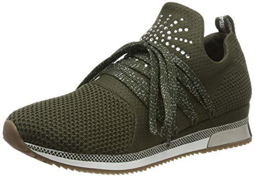 MARCO TOZZI Damen 2-2-23738-33 Slip On Sneaker, Grün Khaki Comb 726, 40 EU