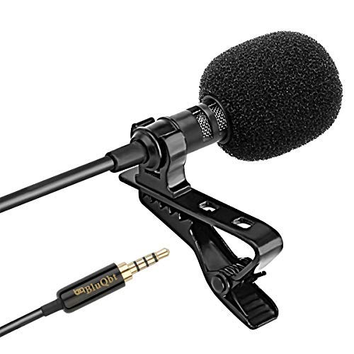 Lavalier Lapel iPhone Ipad Microphone -...