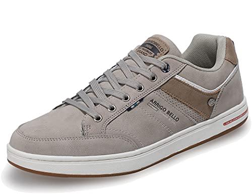 AX BOXING Sneakers Hombre Zapatos Casual Zapatillas Moda Ligero Deporte Gimnasio Running Tamaño 41-46 (ACaqui, Numeric_42)