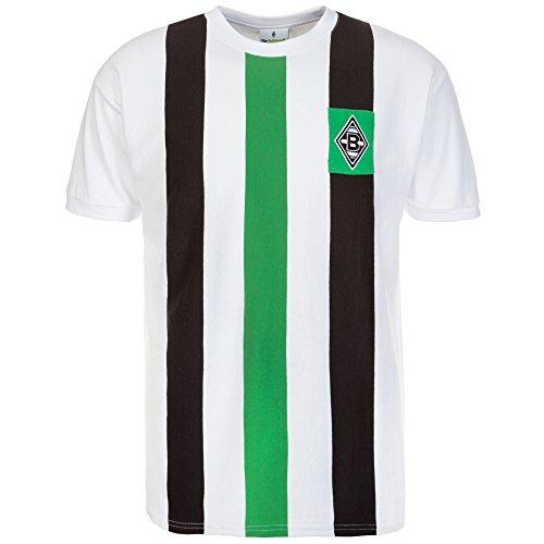 Kappa Herren Borussia Mönchengladbach T-Shirt, 001 White, S