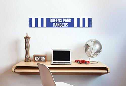 Queens Park Rangers F.C. Écharpe de football Sticker mural – en vinyle Poster, Taille L