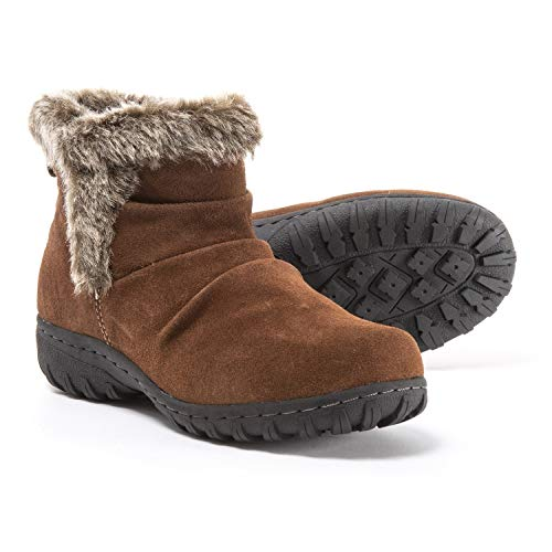 Khombu Ladies All Weather Boot (9, Brown)