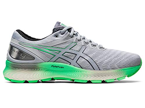 ASICS Men's Gel-Nimbus Lite Running Shoes, 11.5M, White/Piedmont Grey