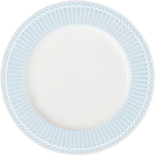GreenGate Teller - Dinner Plate - Alice Pale Blue 26 cm