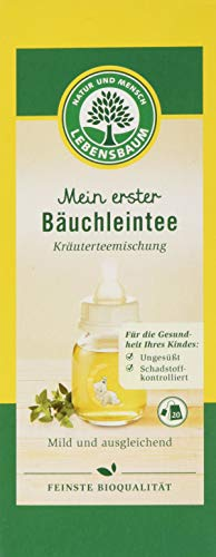 Lebensbaum Kräutertee Im Teebeutel - Mein Erster Bäuchleintee, 30 g 1 x 20 Btl