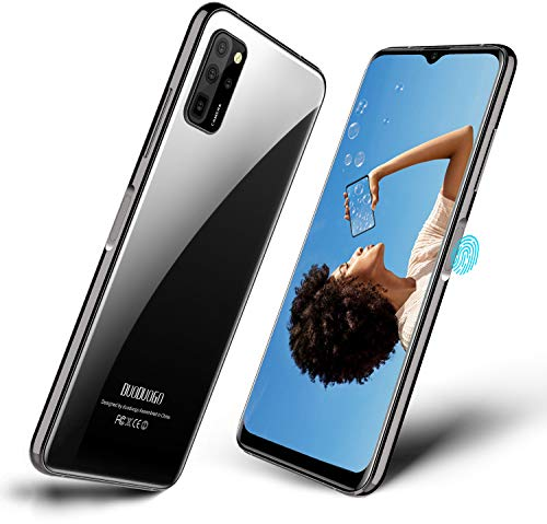 Smartphone Offerta del Giorno DUODUOGO S20, Waterdrop 6.5    a Tutto Schermo, Android 10.0 Dual SIM 4G Cellulare, Octa-Core MTK CPU, 64 GB ROM, 8MP+16MP Fotocamera, GPS, Sblocco Facciale, 4500mAh Nero