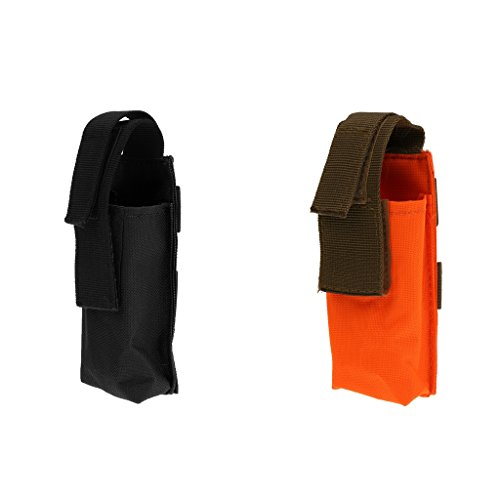 2X Chasse en Plein Air Militaire Tourniquet Poche Premiers Soins Molle Sacs Orange Noir