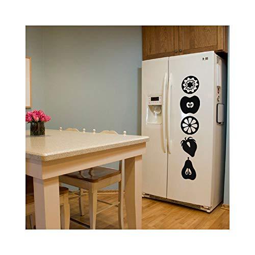 wandaufkleber schlafzimmer spruch Früchte Zitronenapfel für Kühlschrank Aufkleber