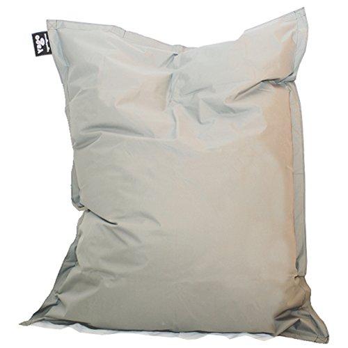 Hagoelvago PUF XXL 180 x 140 cm Puff, sillón, Taburete, Cama, cojín, Almohada, Tumbona, para Interiores y Exteriores 100% Impermeable (Incluye Relleno).
