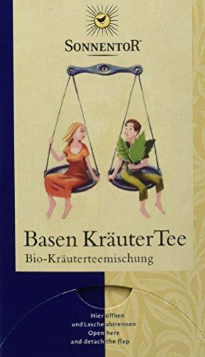 Sonnentor Basen-Kräuter-Tee, Doppelkammerbeutel 2er Pack (2 x 27 g) - Bio