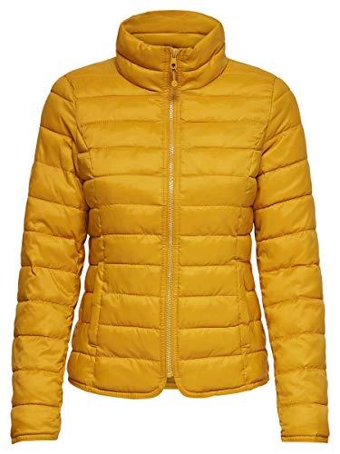 Only Onltahoe Jacket Otw Chaqueta, Amarillo Golden Yellow, 36 (Talla del Fabricante: X-Small) para Mujer