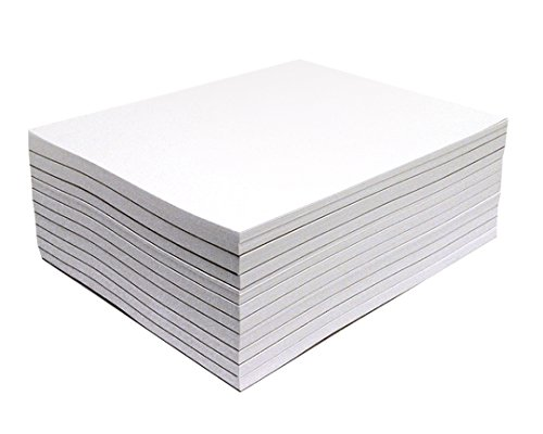 Memo Pads - Note Pads - Scratch Pads - Writing Pads - 10 Pads with 50 Sheets in Each Pad (4.25 x 5.5 inches)