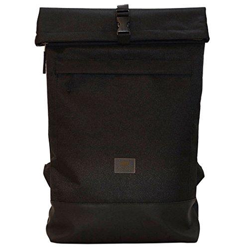 Freibeutler Courier Bag Black/Black, Kurier Rucksack, Rolltop Backpack, Hamburg