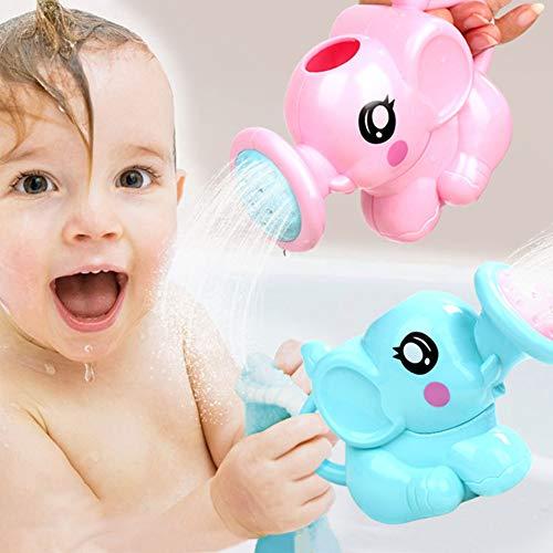 Absir Baby Bath Companion Spielzeug Cute Elephant mit Sprinkler Nase Dusche Spielzeug Kinder Bad Beach Essential Toy