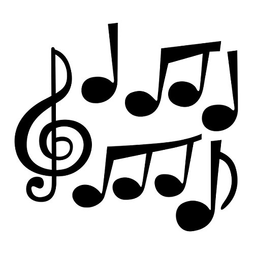 ceiba tree Jumbo Music Note Cutouts for School Bulletin Board Concert Party Supply 24Pcs