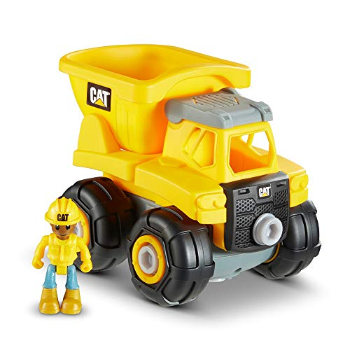 Caterpillar CAT Construction Build Your Own Junior Crew Dump Truck Building Toy JungleDealsBlog.com