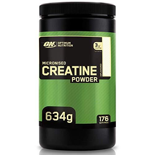 Optimum Nutrition Creatin Monohydrat Pulver, ON Kreatin hergestellt für Muskelaufbau, 176 Portionen, 634g
