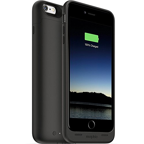 mophie juice pack - Protective Battery Case for iPhone 6 Plus / 6s Plus (2,600mAh) - Black
