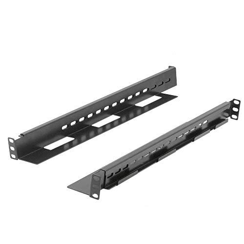 RackMatic - Guías laterales ajustables de fondo 500mm hasta 930mm para rack 19