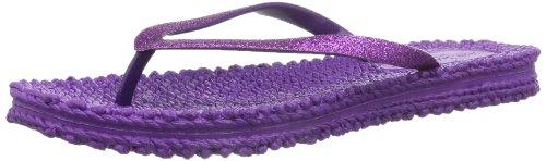 Ilse Jacobsen Damen Glitzer Flip Flop, CHEERFUL01, Größe 39, Zehentrenner, Violett (Orchid 512), 40.5 EU