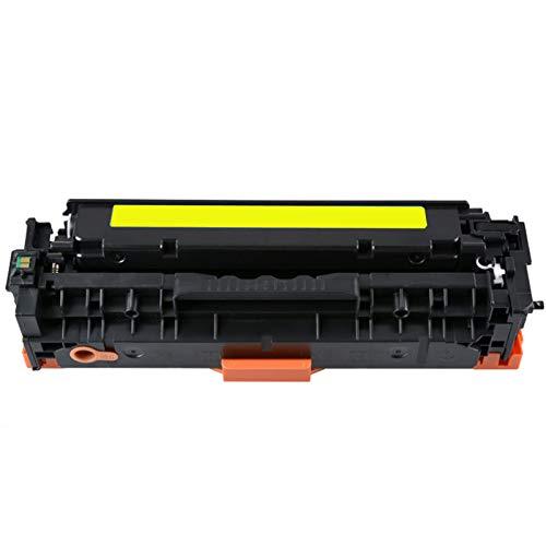 UKKU para HP CE410A Cartucho de tóner para HP Color Laserjet Pro M351A M374NW M451N M451DN M451NW M475DN M475DW CM2320N CM2320NF CM2320FXI CP2025 CP2025N CP2025DN CP2025X Yellow