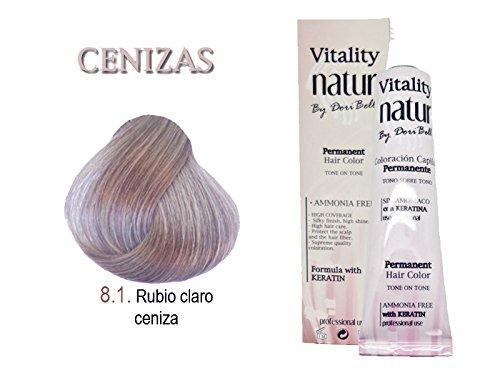 Vitality Natur Coloration à la kératine sans ammoniaque 60 ml Blond clair