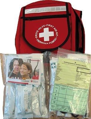 Erste-Hilfe-Notfall Rucksack mit Inhalt DIN 13169/222168